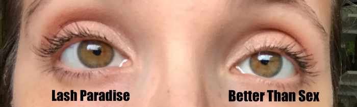 e8d2bc1335a Here are my eyes with a bit of shadow and no mascara or liner. And my face  without foundation (hello, freckles!). Woof, need to work on those brows,  girl.